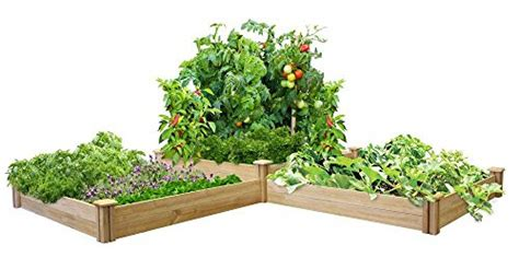 17005 greenes fence raised beds greenes fence two tier dovetail raised garden your