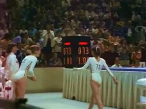 Comaneci Floor Routine by Comaneci Olympic Gold Part 1
