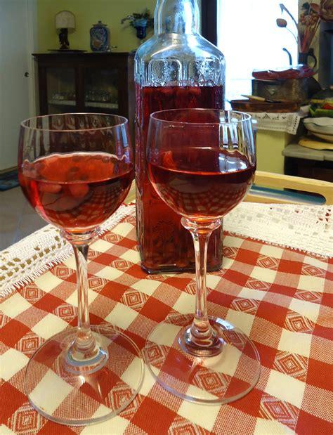 bicchieri per grappa liquore e grappa alla melagrana