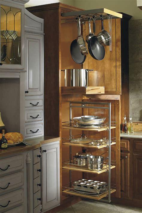 thomasville organization utility storage  pantry pullout  pots pans rack