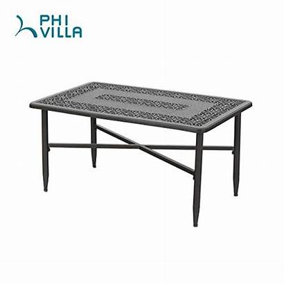 Coffee Frosted Rectangular Surface Table Buymorecoffee