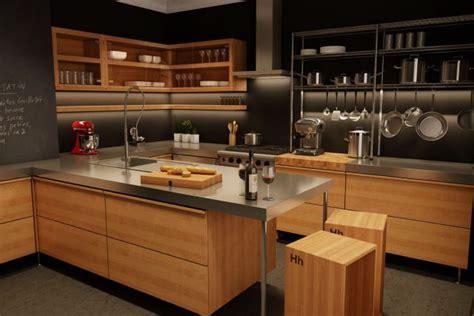 style de cuisine moderne cuisine moderne en bois du québec léger décoration