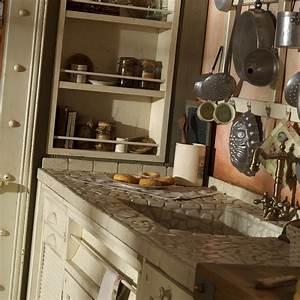 italienische landhauskuche vom profi edle kuchen With geflieste arbeitsplatte küche