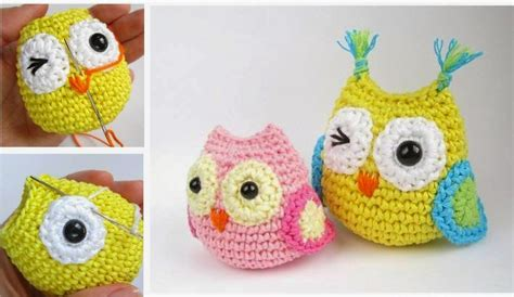 Owls Knitted And
