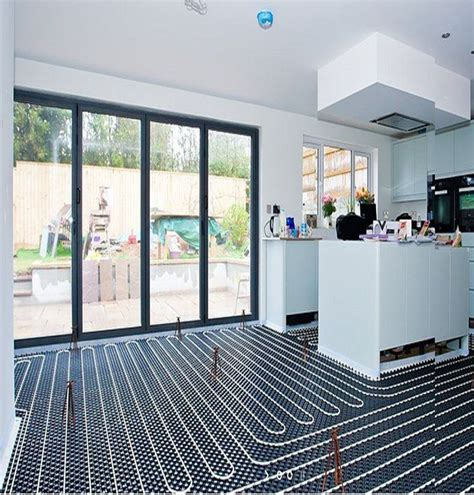 heated kitchen floor best 25 underfloor heating ideas on bathroom 1599