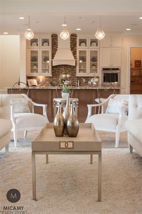 Free delivery and returns on ebay plus items for plus members. Modern Glam Living Room, White Kitchen, Gold Coffee Table (With images) | Modern glam living ...