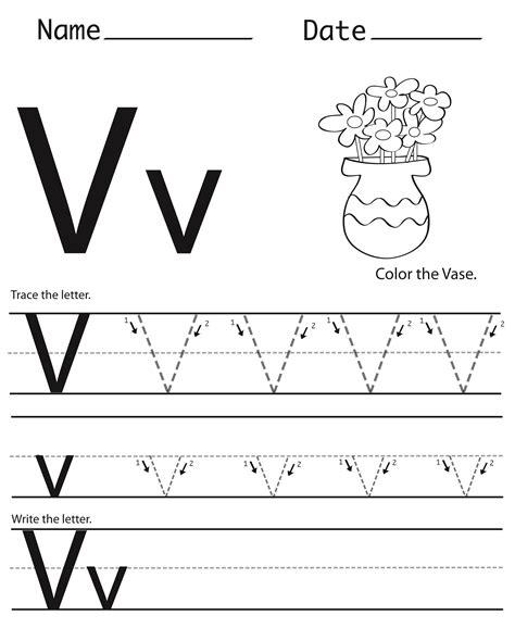 letter v worksheets letter v worksheets to print activity shelter 51793