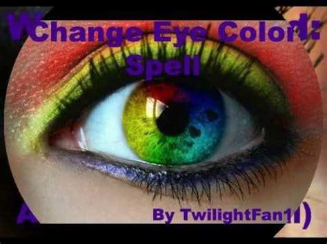 change eye color spell change eye color spell