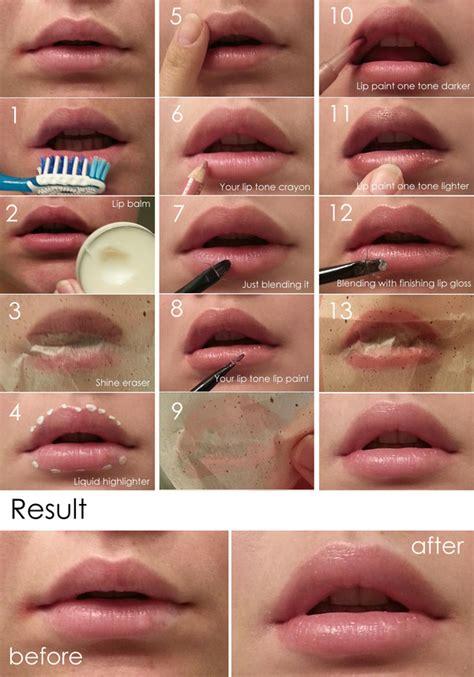 natural  lip makeup tutorial valerie ds valeritte photo beautylish