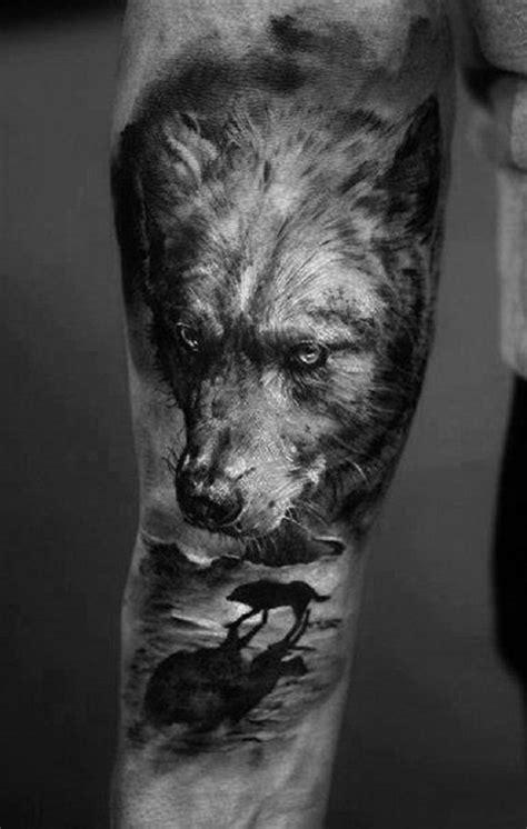 wolf oberarm 1001 ideas de tatuajes de lobos diferentes dise 241 os y