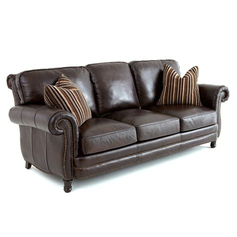 Chocolate Brown Leather Sofa Very Por Sectional Dark Brown