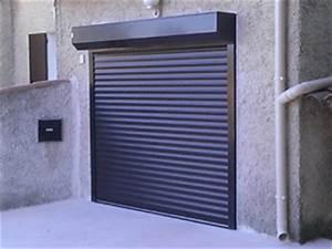volets roulants battants isoles et persiennes coulissantes With porte de garage enroulable avec verrou de porte
