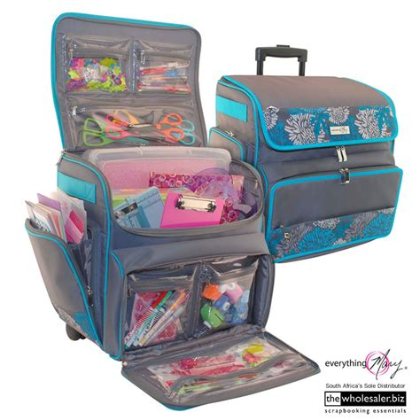 mary scrapbooking tote caddy easel