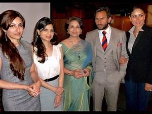 Saif Ali Khan Family Photo, Father, Mother, Wife, Son ...