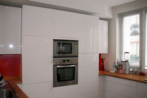 cuisine blanc laque cuisine ikea blanc laqué