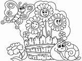 Coloring Garden Flower Pages Drawing Printable Flowers Gardens Plants Boyama Fabulous Watering Patio Boy Getdrawings Coloringpagesonly Cicek Nature Uecretsiz Yazdırılabilir sketch template