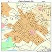 Clarks Summit Pennsylvania Street Map 4213880