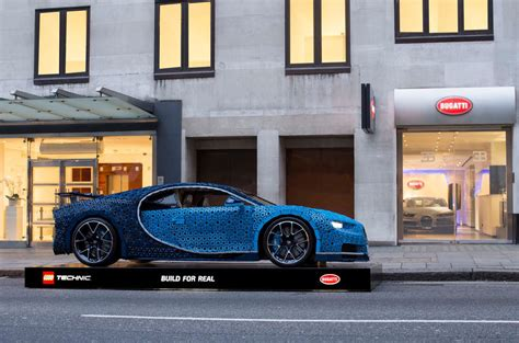 Last august, the lego group unveiled the first ever full sized drivable lego car, to the astonishment of fans around the world. Full-scale, Lego Bugatti Chiron makes UK debut   Autocar