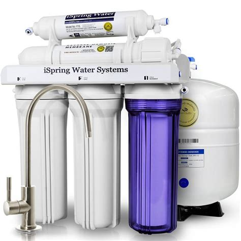 best under sink reverse osmosis system ispring rcc7 5 stage residential under sink reverse