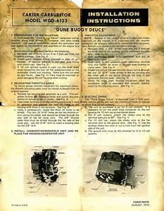 Jeep Carter Carburetor Diagram