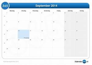 Kalender September 2014