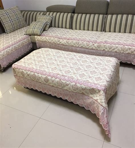 Sofa Protector For Sectional by Quilted And Lace Custom Sectional Sofa Slipcovers