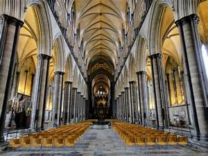 Interior of Salisbury Cathedral - Picture of Salisbury ...