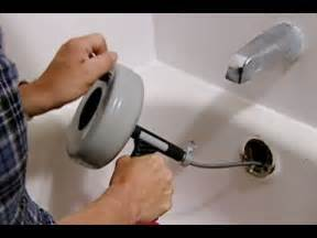 Slow Draining Bathroom Sink And Tub by How To Clear A Clogged Bathtub Drain This Old House