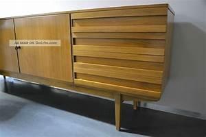 Kommode Mid Century : xxl sideboard kommode mit schubladen 60er 70er teak ~ Michelbontemps.com Haus und Dekorationen