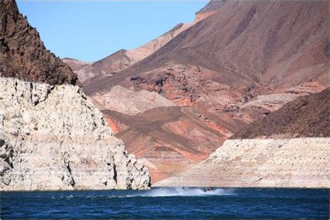 Lake Mead At Record Low Level  The New York Times