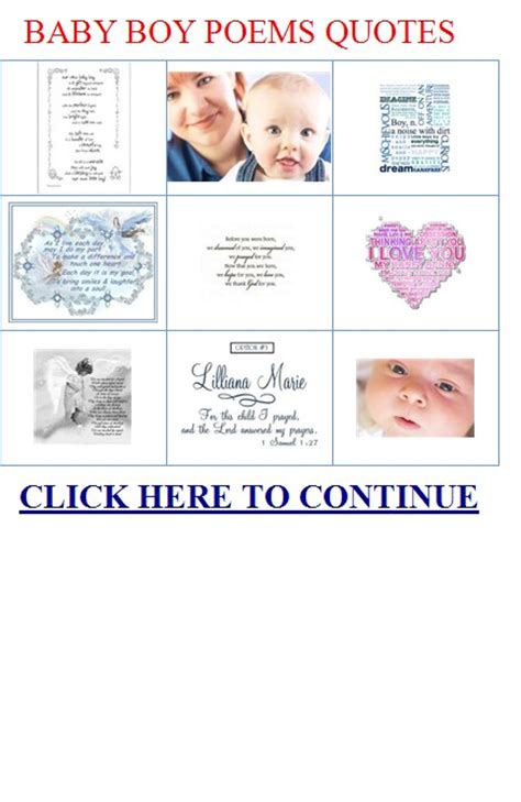 baby boy poems  quotes quotesgram