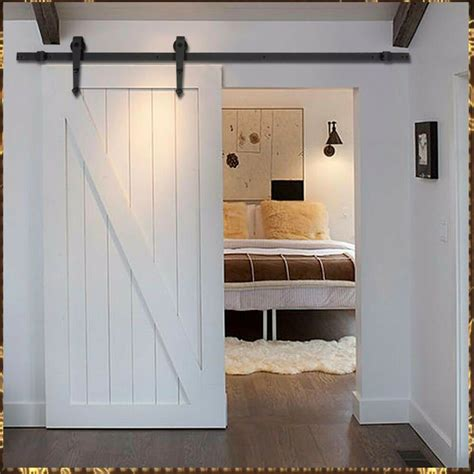 Closet Door Glides by Sliding Barn Door Hardware Closet Set Antique Modern