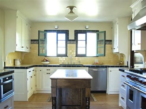 images  yellow tile kitchen  pinterest