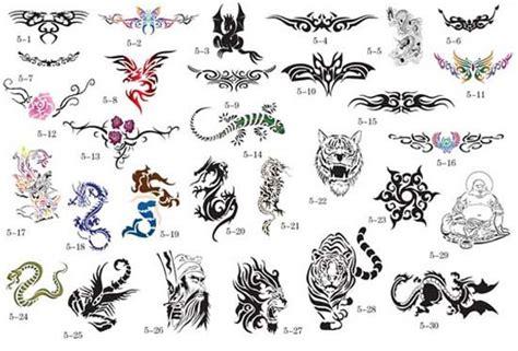 Henna Tattoo Designs Animals, Tribal Sparrow Bird Tattoos