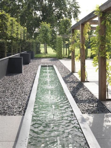 25 best ideas about modern water feature on