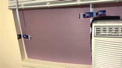 installed  standard window air conditioner   casement slider window  month follow