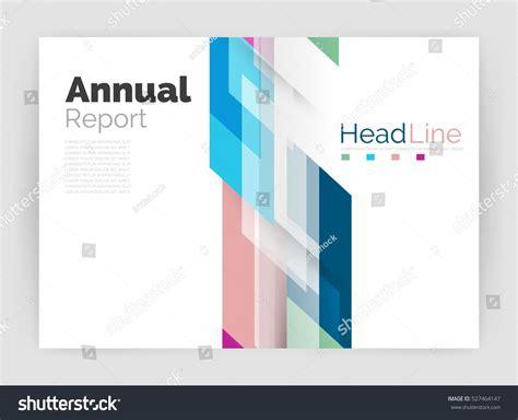 Geometric Business Annual Report Templates Modern Stock
