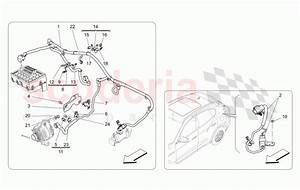Maserati Levante  2017   Main Wiring Parts