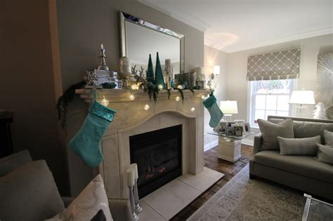 Blue And Silver Living Room by Tiffany Blue And Silver Contemporary Decor Contemporary