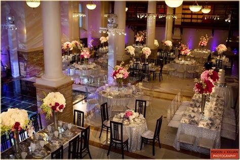 catered affair boston public library summer wedding