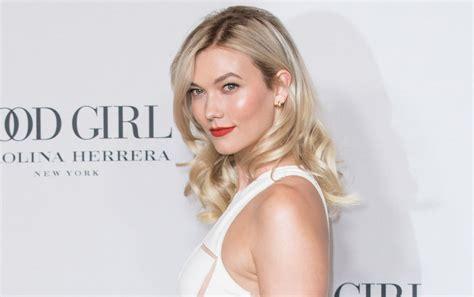 Karlie Kloss Goes Glam For Carolina Herrera New