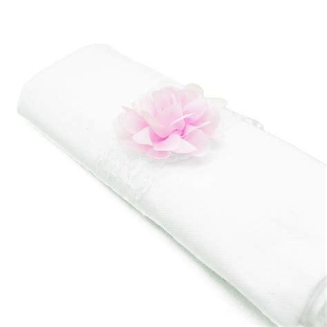 rond de serviette rond de serviette fleur p 226 le accessoire deco mariage
