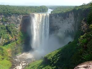 Guyana South America Waterfalls