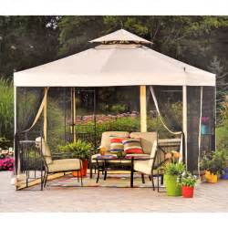 Sears Replacement Patio Umbrella by Walmart Athena Gazebo Replacement Canopy Garden Winds