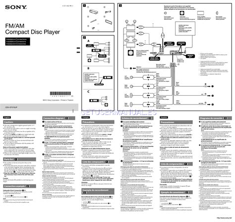sony model cdx gt300 wiring diagram wiring diagram and