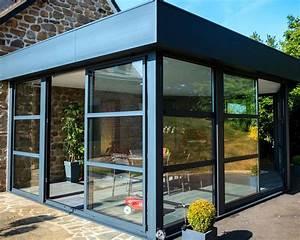 extension toit plat domozoomcom With maison avec toit en verre