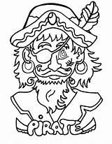 Pirate Coloring Jake Printable sketch template