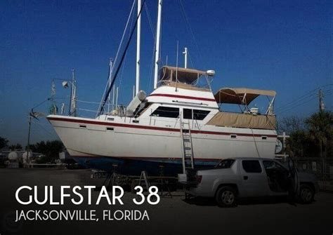 Used Outboard Motors Jacksonville by For Sale Used 1983 Gulfstar 38 In Jacksonville Florida