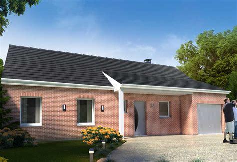 prix maison plain pied 4 chambres plan maison individuelle 3 chambres 21 habitat concept