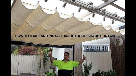install  outdoor shade curtain outdoor shade retractable shade outdoor